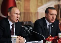 """La strana coppia """"impari"""" Putin-Erdogan"""