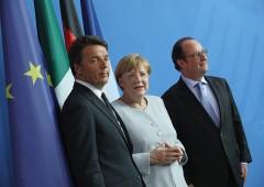 Ue a Roma, Renzi tratta per salvare il suo governo