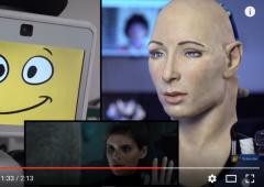 """Robot """"Face"""" guarda film """"Morgan"""" e si emoziona. Il video sconvolge il mondo"""