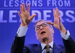 """Bill Gates: """"Il 95% dei miei soldi non mi serve"""". Italia """"doni di più"""" a Global Fund"""