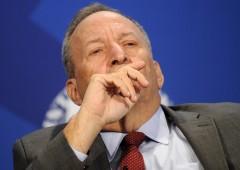 """Banche, Summers: """"Meno sicure rispetto al 2008"""""""