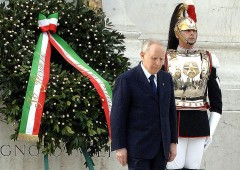 """Bufera su frase Salvini: """"Ciampi ha svenduto Italia come Prodi e Monti"""""""