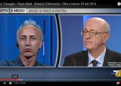 """Referendum: """"Se vince il No, Berlusconi tornerà in campo"""""""