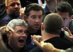 Azionario: esodo da questo mercato. A livelli da crash Black Monday