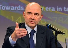 """Ue, da Moscovici ricatto referendum? """"Si flessibilità a Italia contro populismi"""""""