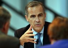 """Carney deprime la sterlina: """"Non è ancora l'ora di alzare tassi"""""""