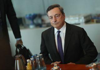 Draghi: super euro colpa di Trump, crea incertezze
