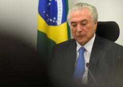Brasile, Temer verso impeachment per corruzione. Borsa -9%