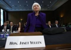Effetto Yellen sui mercati si smorza, focus su banche