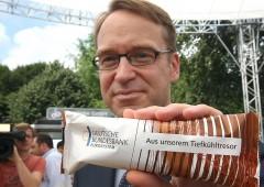 Crisi euro, boom di depositi presso la Bundesbank