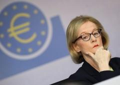 """Bce, Nouy: """"slitta applicazione addendum su Npl"""""""