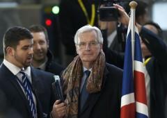 """Brexit, Barnier: """"non c'è più tempo da perdere"""""""