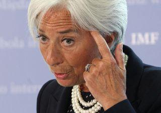 Lagarde all'Italia: