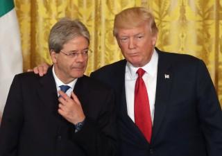 Gentiloni vede Trump, Italia succube della militarizzazione Usa