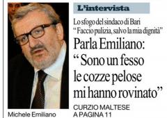 """Primarie PD 2017: """"Avrò vinto anche se avrò perso"""" (Michele Emiliano)"""