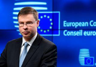 Dombrovskis: manovra cambi o via a procedura infrazione