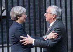 Brexit, Juncker: dieci volte più pessimista dopo cena con May