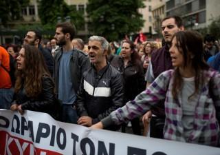 Grecia paralizzata da sciopero generale contro l'austerity