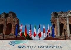 G7 ad alta tensione, primo dell'era Trump