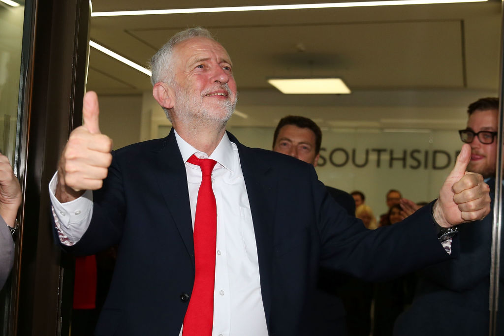 Brexit, Labour Leader Jeremy Corbyn Heads To Labour Party HQ
