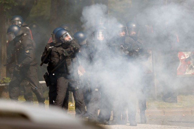 Le proteste durante il G20 di Amburgo