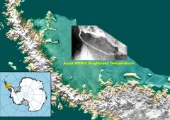 Antartide, si stacca iceberg più grande al mondo: cartine da ridisegnare