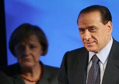Berlusconi: il futuro dell'Europa in mano alla Merkel