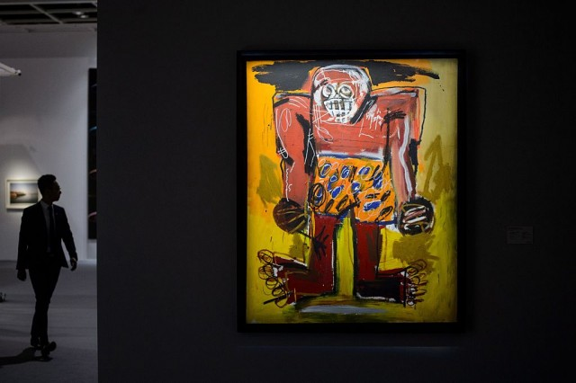 Christie's: in esposizione l'opera di Jean-Michel Basquiat 'Sugar Ray Robinson'