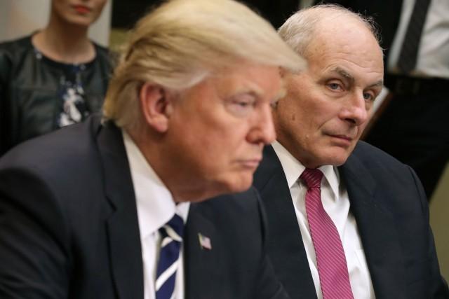 Trump, colpo di stato militare soft con ex generale della Marina John Kelly al comando
