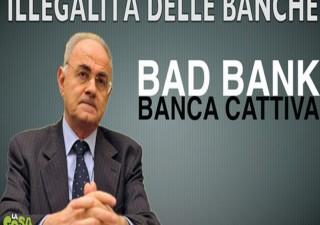 Veneto banca e risparmiatori azionisti: Bad bank senza cuore
