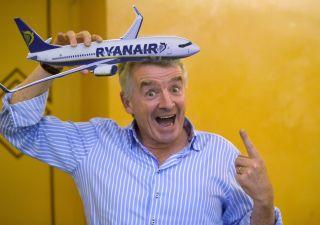 Ryanair ai suoi: