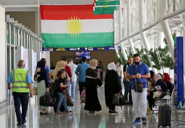 I voli dalla capitale della regione autonoma curda dell'Iraq, Arbil, e verso di essa saranno sospesi da domani 29 settembre, come parte delle misure punitive del governo di Bagdad contro la decisione dei curdi di tenere un referendum sull'indipendenza