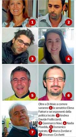 M5S: i sette semi sconosciuti che sfidano Di Maio per la leadership