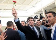 """Catalogna, Puigdemont: """"indipendenza è una questione di giorni"""""""