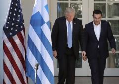 Tsipras: a Natale 1 miliardo per i poveri. Alleanza con Trump?