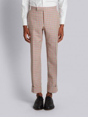 Pantaloni a quadri Thom Browne