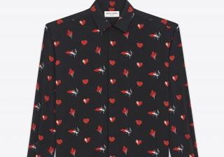 Saint Laurent per la stagione fredda: felpe e camicie per l'uomo di classe