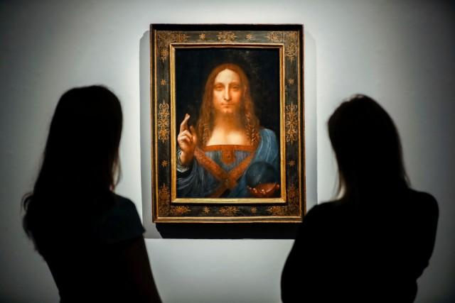 Il quadro Salvator Mundi di Leonardo da Vinci