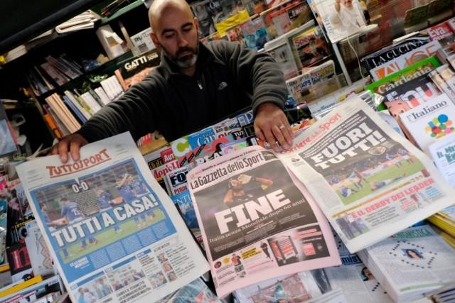 Italia eliminata dai Mondiali del 2018: ecco quanto costerà all'economia