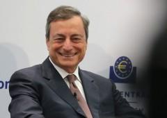 Bce, Draghi: così scongiureremo corsa sportelli
