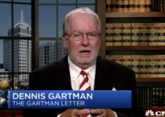 """Borse, Gartman: """"non esiteremo un istante a vendere tutto"""""""