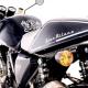 Moda, Boggi sale in sella alla moto Gran Milano del gruppo SWM