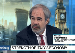 """Costamagna (Cdp): Italia sta recuperando in fretta, Intesa e UniCredit """"molto solide"""""""