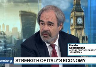 Costamagna (Cdp): Italia sta recuperando in fretta, Intesa e UniCredit
