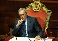 """Grasso nuovo leader sinistra. Renzi: """"Comanderà lui o D'Alema?"""""""