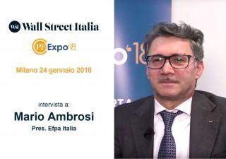 """PF Expo 2018, Ambrosi (Efpa): """"Mifid 2 farà emergere i consulenti migliori"""""""