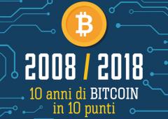 Bitcoin compie 10 anni: il 2017 è stato l'anno delle criptovalute