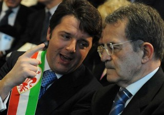 Prodi e Renzi divisi sull'economia