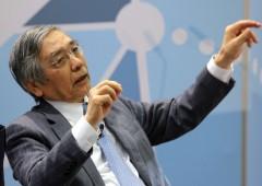 Mercati sotto shock, Kuroda: pronti ad abbandonare bazooka monetario