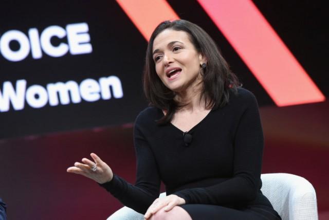 La numero due di Facebook Sheryl Sandberg